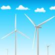 Windräder - Windgeneratoren