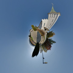 Mini planet church richnava