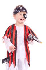 lachender Pirat