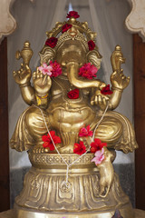 A statue of Ganesh.