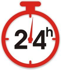 pictogramme chrono 24 h