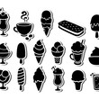 Ice cream icons