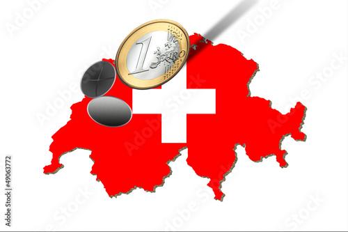 Euros rollen in die Schweiz