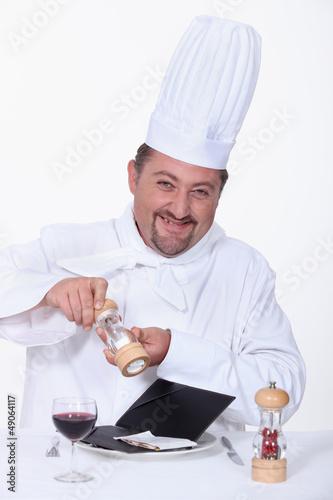 cook salting a bill