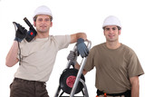 Team of tradespeople