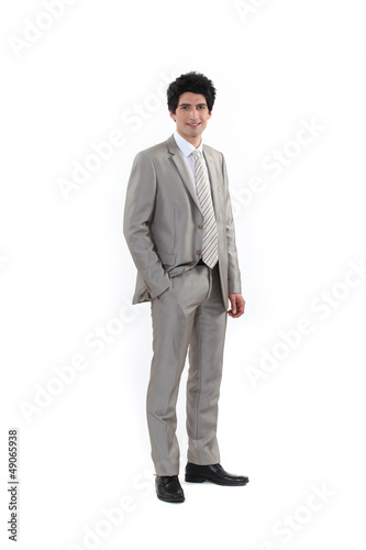 Young graduate businessman