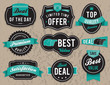 Retro business labels and badges - 49066142