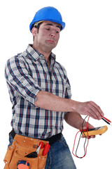 Nervous electrician