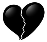 Broken heart design
