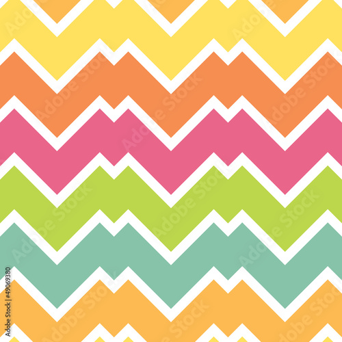 Candy chevron pattern, seamless background