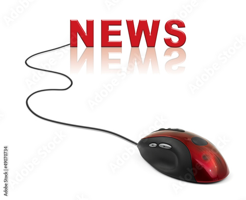 Computer mouse and word News