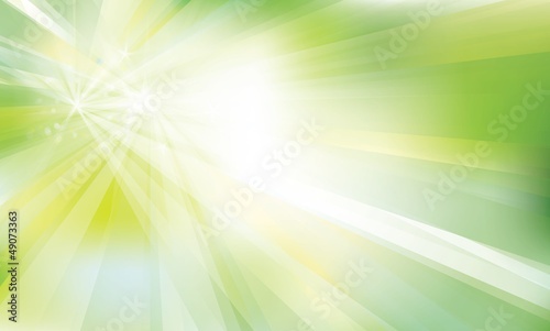 Vector of green sparkly background.