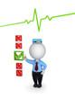 Medical service concept.