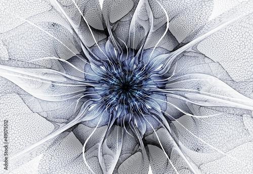 Futuristic flower - 49075512