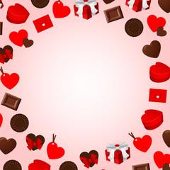 バレンタイン 背景