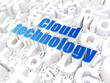 Cloud computing technology, networking concept: Cloud Technology
