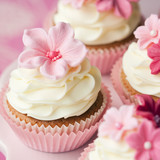 Flower cupcakes - 49077745