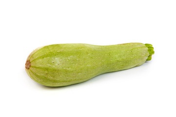Courgette/zucchini. Isolated on white.