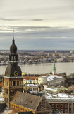 View of Riga town, Latvia