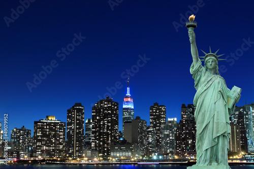 Fototapeten,freiheitsliebe,freiheitsliebe,new york city,manhattan