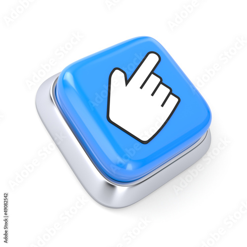 Button with Hand