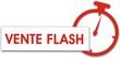étiquette chrono vente flash