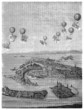 Aerostats with Bombs - middle 19th century