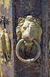 Italy, Livorno old door handle