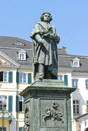 Monument of Ludwig van Beethoven in Bonn