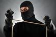 Verbrecher mit Seil