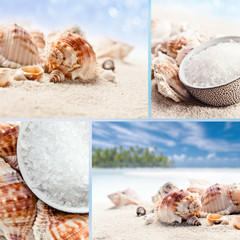 Sea salt,saved clipping path