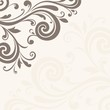 Floral background. Wedding invitation.