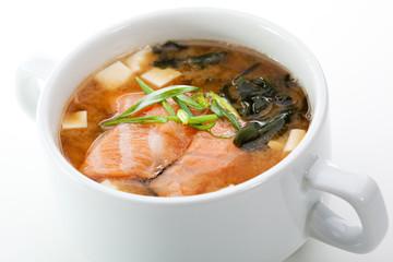 Salmon Miso Soup