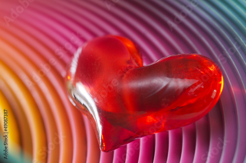 Atmospheric Valentines heart