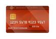 Kreditkarte rot