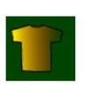 tee-shirt fond verd
