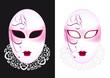 Masque Vénitien - rose - Carnaval