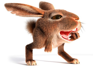 Hare shouts