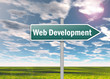 "Signpost ""Web Development"""