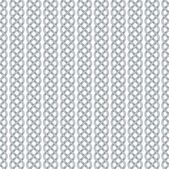 Seamless pattern of celtic braids
