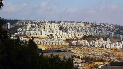 Panoramic view to Bethlehem, Palestine