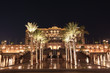 Emirates Palace at night, Abu Dhabi, United Arab Emirates