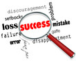 Finding Success Amid Failure - Magnifying Glass