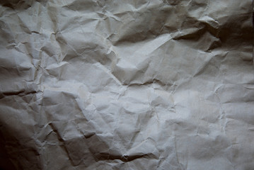 Crumpled paper texture for text background