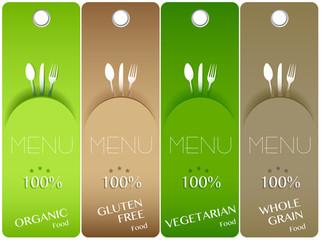 Four bio menu