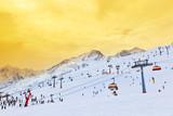 Fototapeta góry - Alpy - Góry
