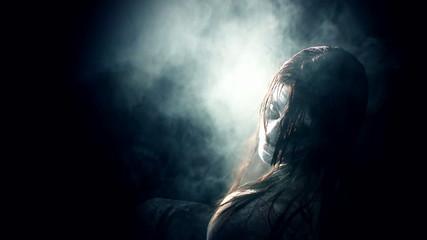 girl evil possessed demon horror