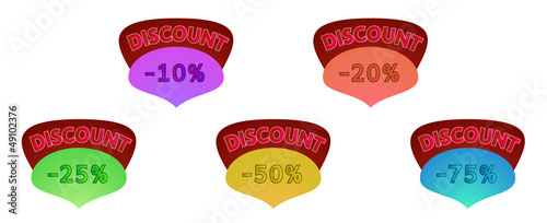 discount label