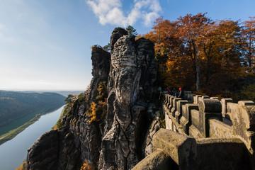 Blick von der Basteibrücke