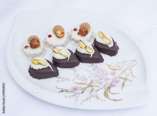 Selection of petit fours
